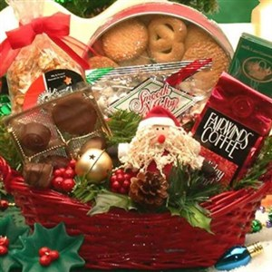 assorted coffee and tasty snacks gift basket perfect gift for coffee lover