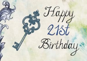21st birthday presents